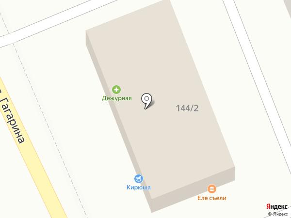 Дежурная на карте Яблоновского