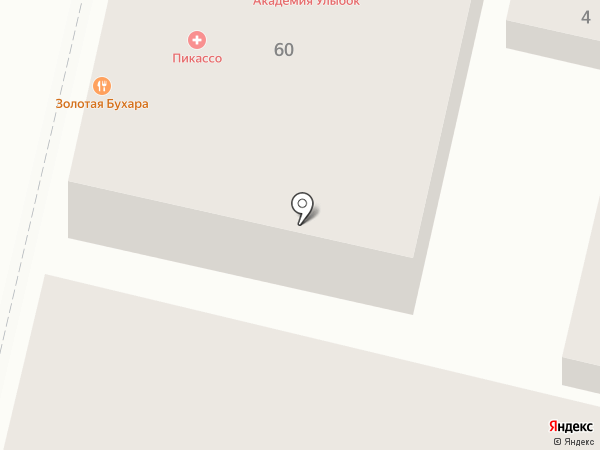 Вектор на карте Краснодара