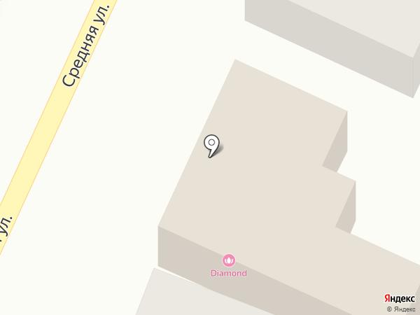 Автокомплекс на карте Краснодара