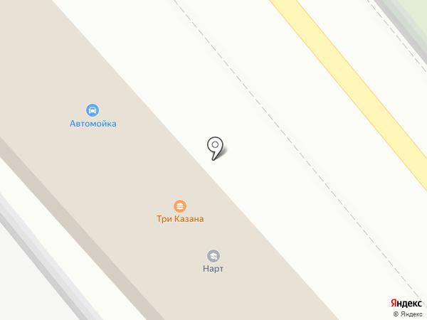 Автомойка на карте Яблоновского