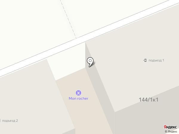 Мон Роше на карте Яблоновского