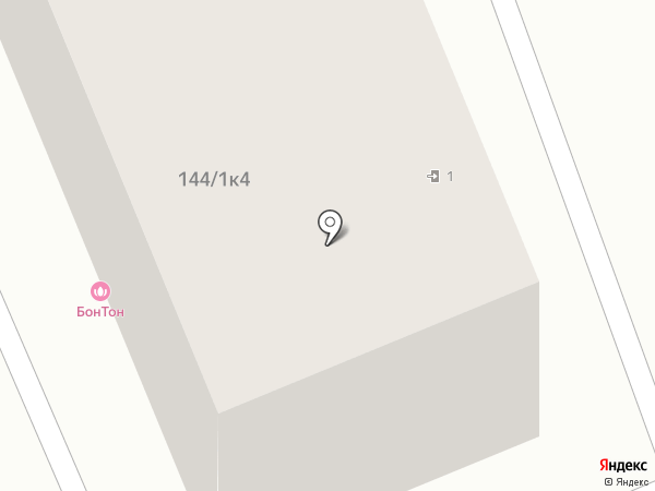 БонТан на карте Яблоновского