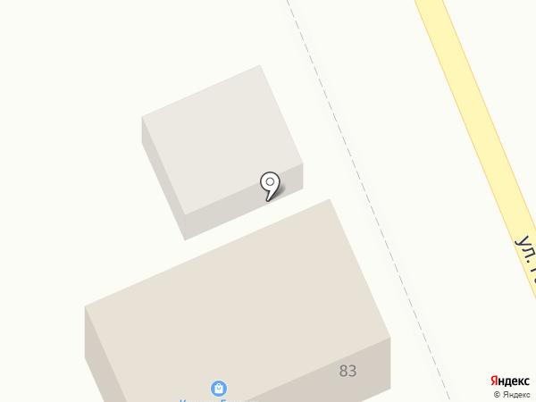 Автомастерская на карте Яблоновского