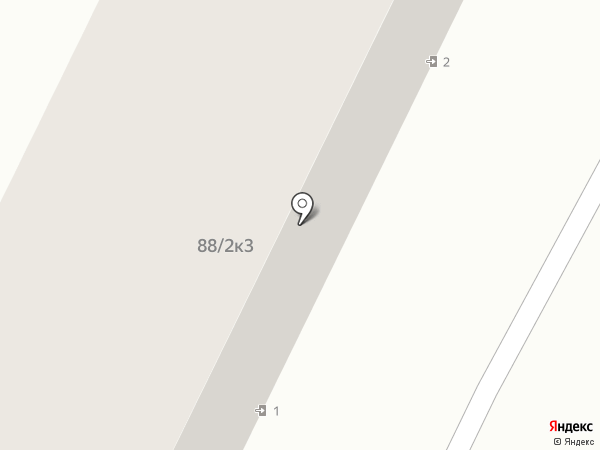 Молодежный на карте Яблоновского
