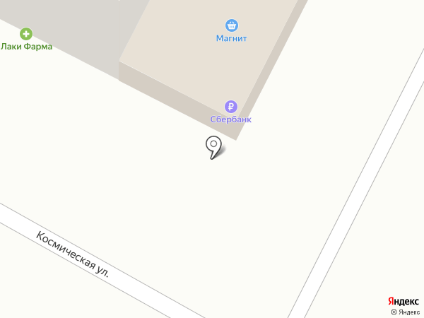 Магнит на карте Яблоновского