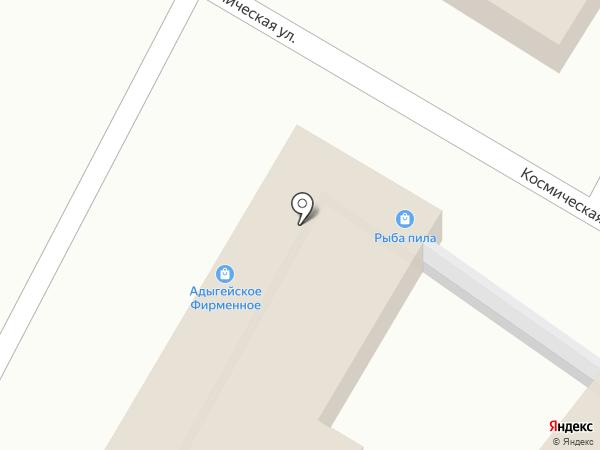 Гермес на карте Яблоновского