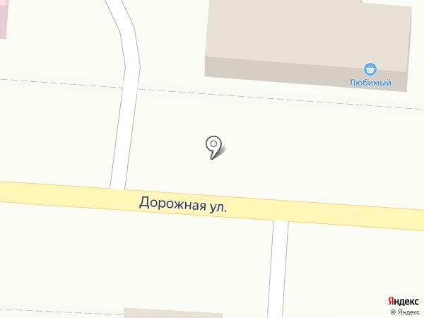Магазин автозапчастей на карте Яблоновского