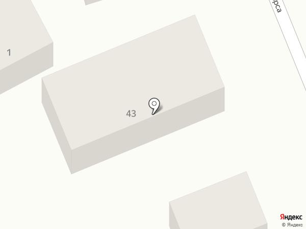 Самсон на карте Яблоновского