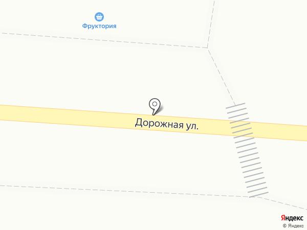 Киоск по продаже овощей и фруктов на карте Яблоновского