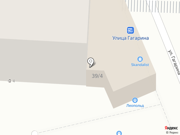 ЖираФ на карте Яблоновского