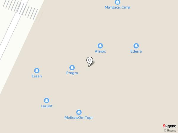 Акцент на карте Краснодара