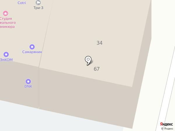 Медиатрон на карте Краснодара