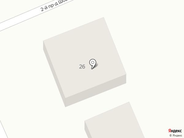 Абакан на карте Яблоновского
