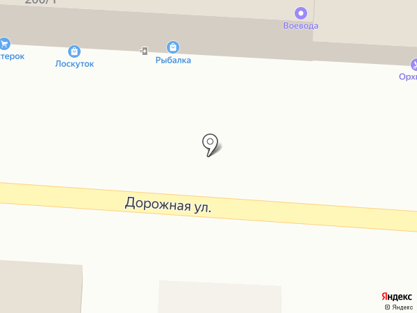Рыбалка на карте Яблоновского