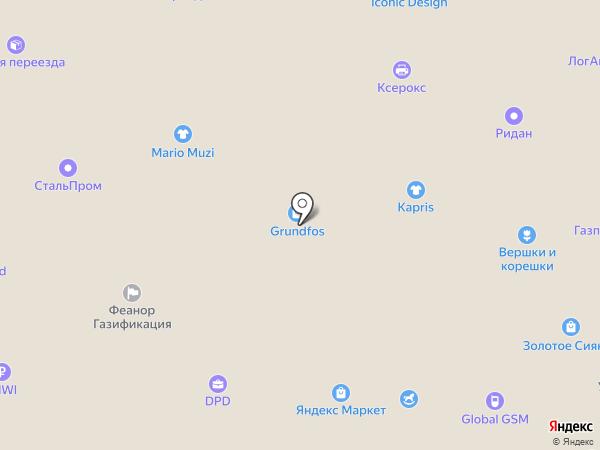 РОСТЕХИНЖИНИРИНГ на карте Краснодара