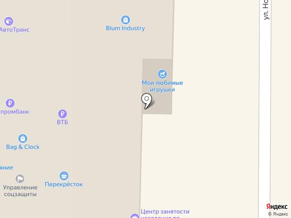 Милисента на карте Краснодара
