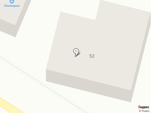 Магазин автозапчастей для иномарок на карте Яблоновского