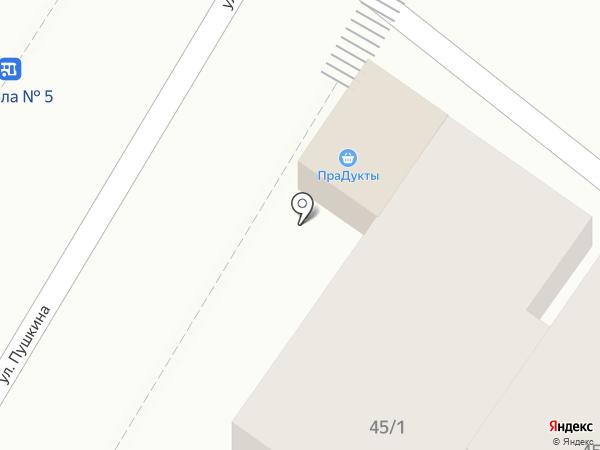 Мафэ на карте Яблоновского