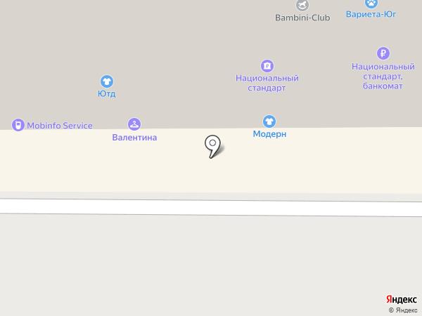 Техносервис на карте Краснодара