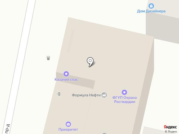 Приоритет на карте Краснодара