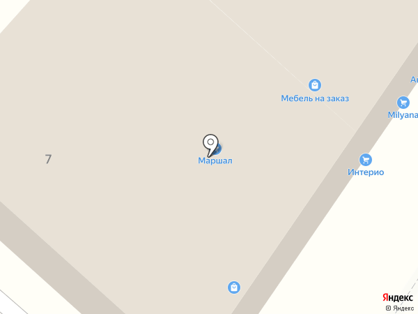 Зодчий на карте Перекатного