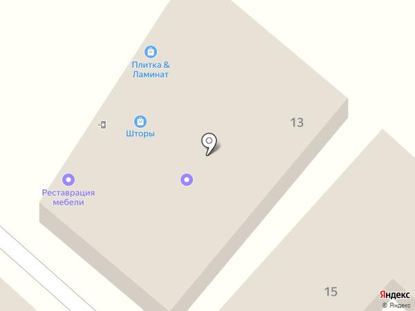 Деан на карте Перекатного