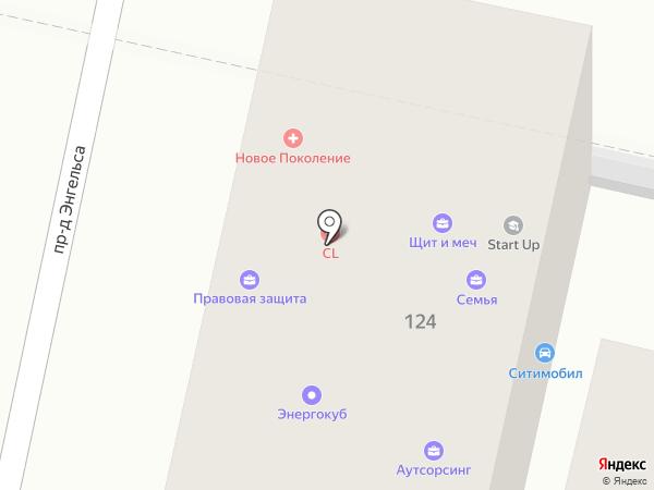 ДоброМед на карте Краснодара