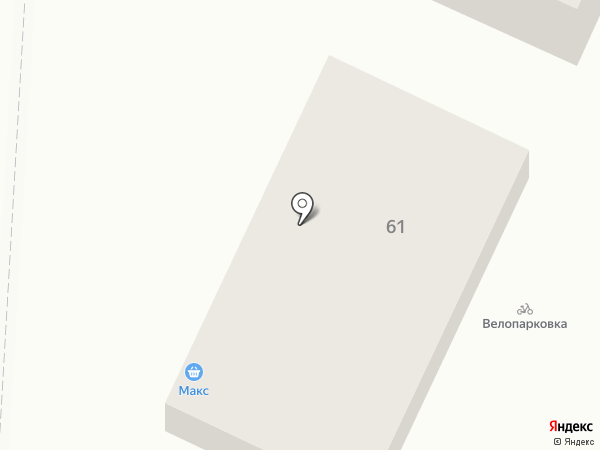 Магазин на карте Яблоновского