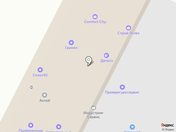 Интерстрой на карте Яблоновского