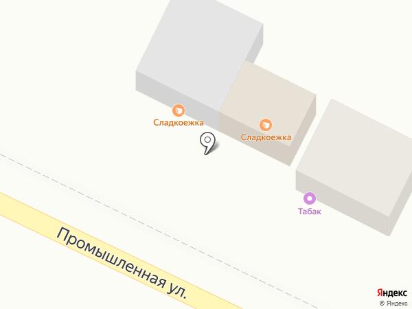 Киоск по продаже фруктов и овощей на карте Яблоновского