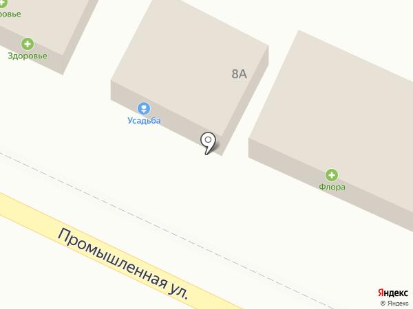 Усадьба на карте Яблоновского