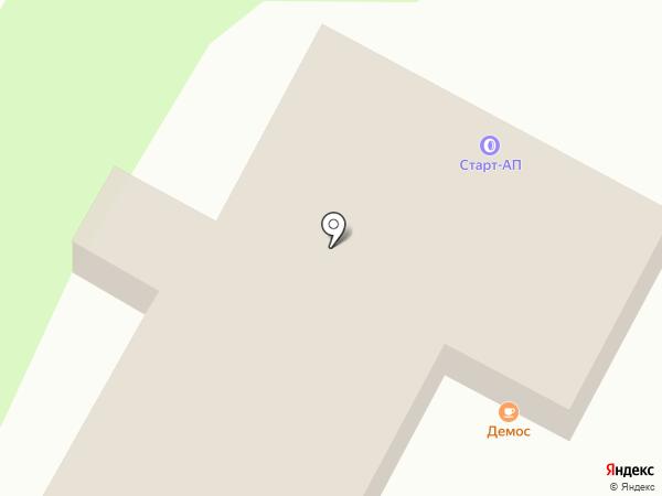 Демос на карте Яблоновского