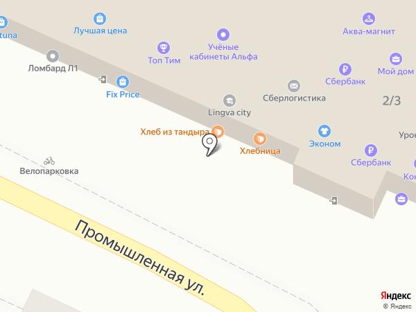 Красотка на карте Яблоновского