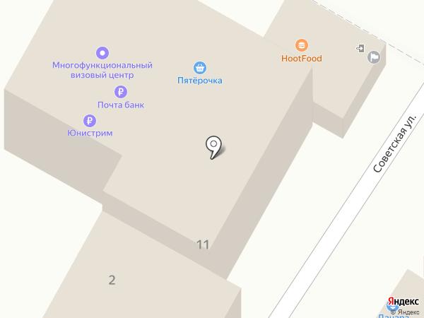 Продуктовый магазин на карте Яблоновского