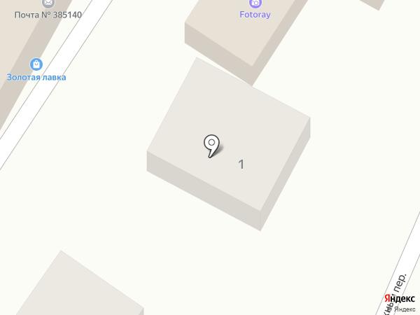 Данара на карте Яблоновского