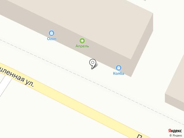 Магазин детских игрушек на карте Яблоновского