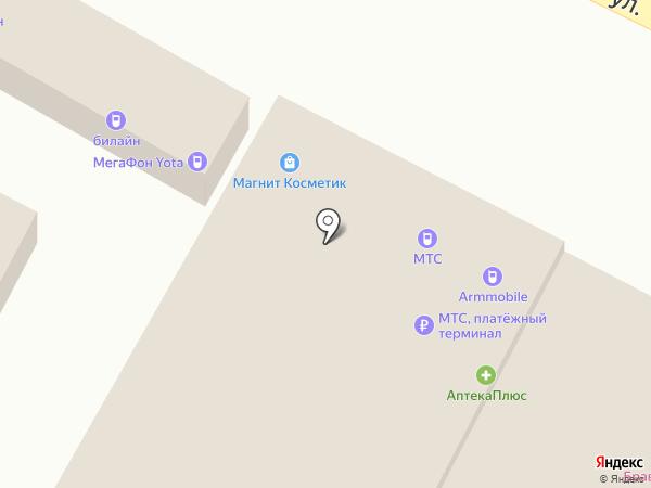 МТС на карте Яблоновского