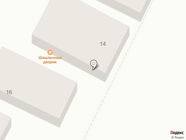 Евротон на карте Яблоновского