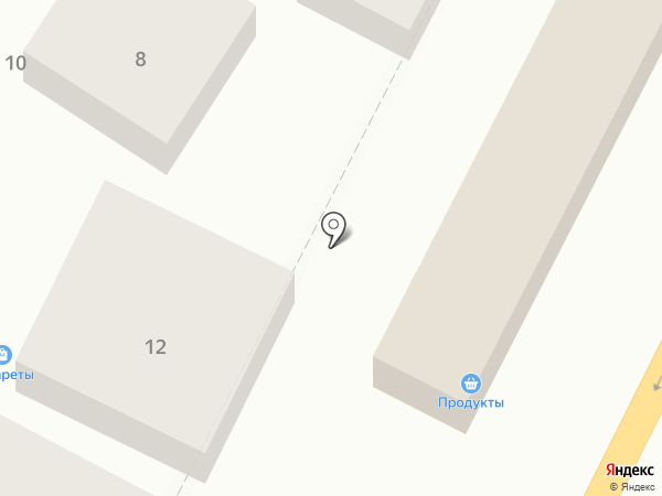 Мегафон на карте Яблоновского