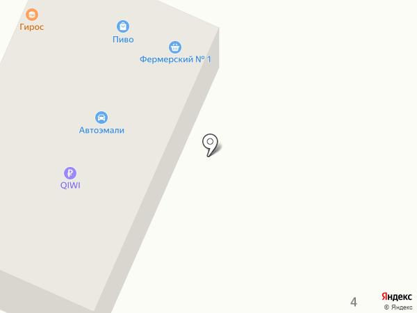 Аквизитор на карте Краснодара