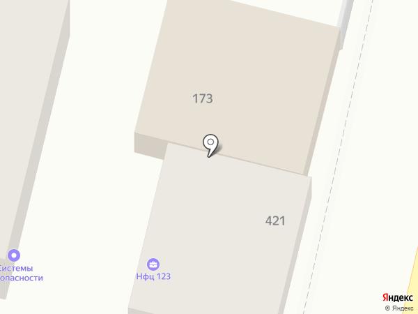 ВИЗА-ВИ на карте Краснодара
