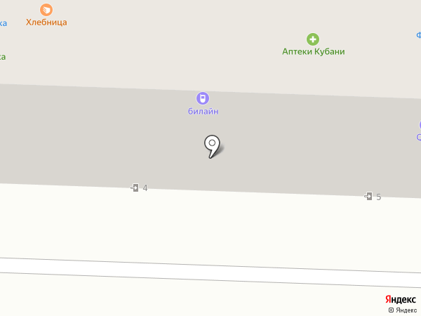 ЕВРОКОММЕРЦ ЗАЙМ на карте Краснодара