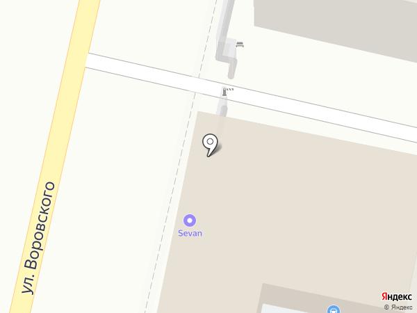 Фонд на карте Краснодара
