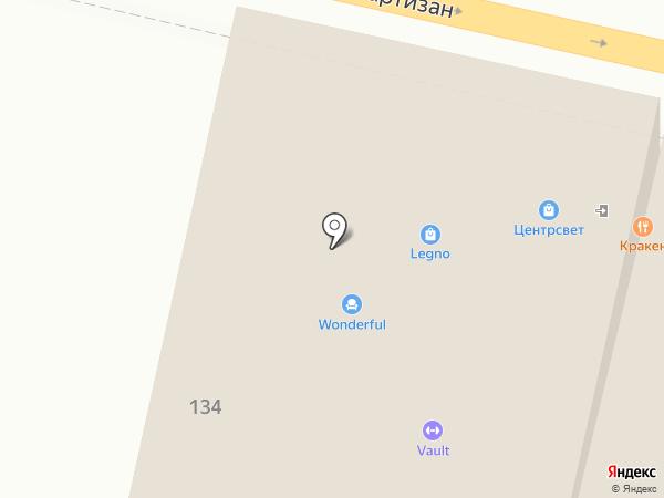 Legno на карте Краснодара