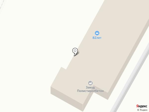 Завод полистиролбетона на карте Яблоновского