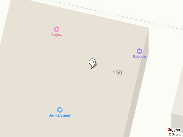 ПАЛАЦЦО на карте Краснодара