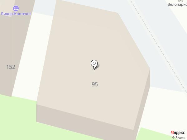 Парадиз на карте Краснодара