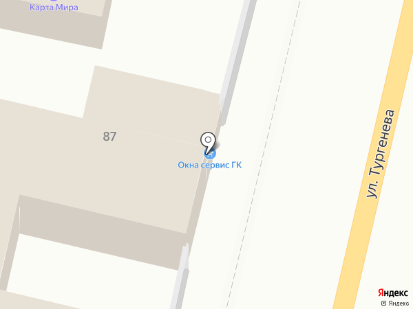 Детский магазин на карте Краснодара