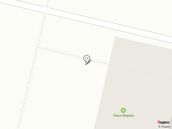 Магазин молочных и мясных продуктов на карте Краснодара