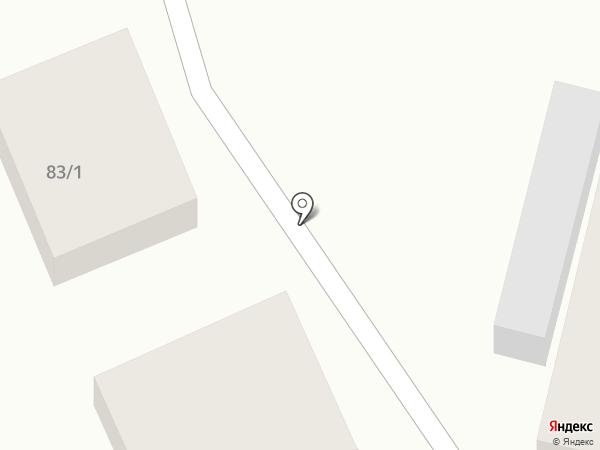 ПОЧТА СТАК на карте Краснодара